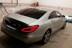 Mercedes temnenje stekel