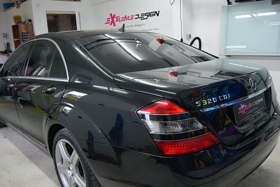 Temnenje stekel Mercedes S320 CDI